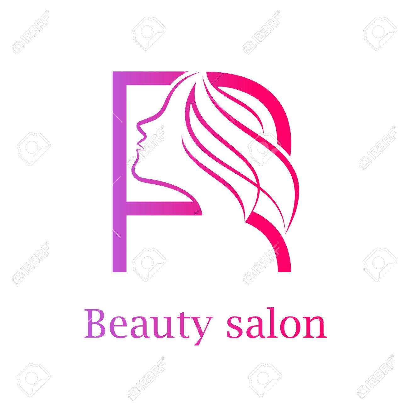 Abstract Letter R Logo Beauty Salon Logo Design Template Royalty Free Cliparts Vectors And Stock Illustration Image 84733911