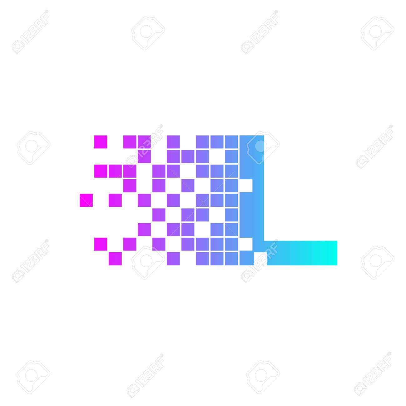 letter l logo designnetwork digital logo icon template technology logo web net