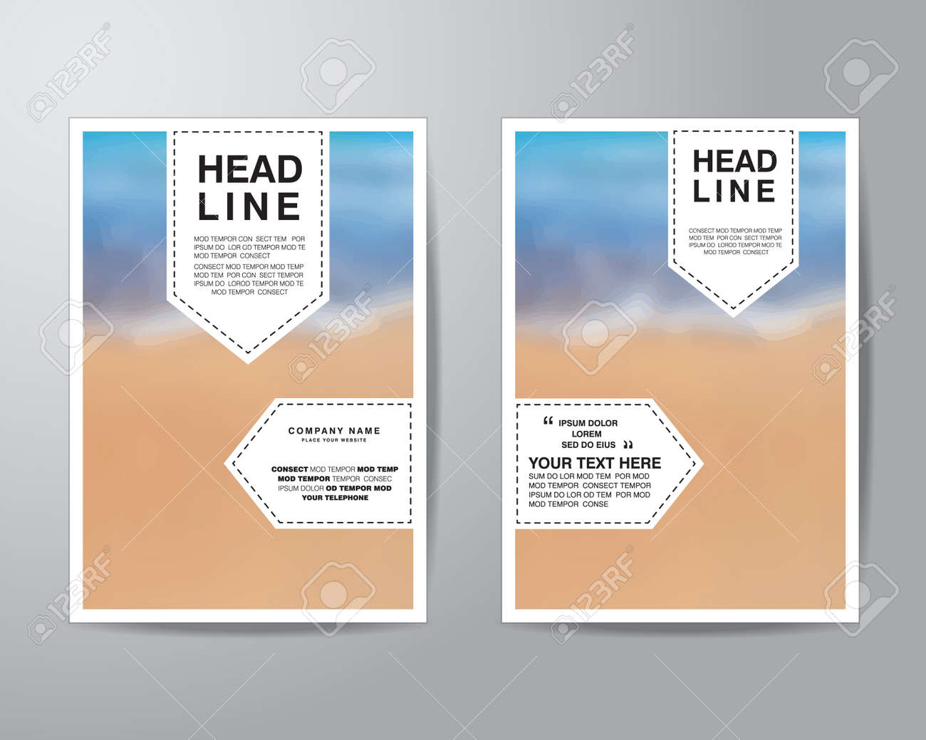 tag and blur background brochure flyer design layout template vector tag and blur background brochure flyer design layout template in a4 size bleed vector eps10
