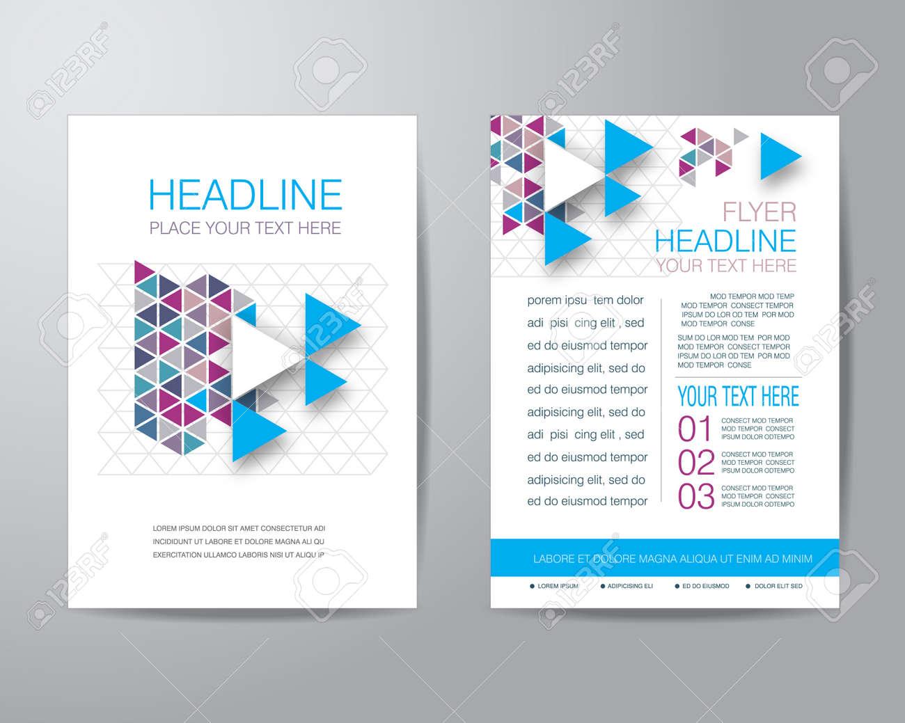 brochure d entreprise conception flyer mod egrave le de mise en page au banque d images brochure d entreprise conception flyer modegravele de mise en page au format a4 avec purge vecteur eps10