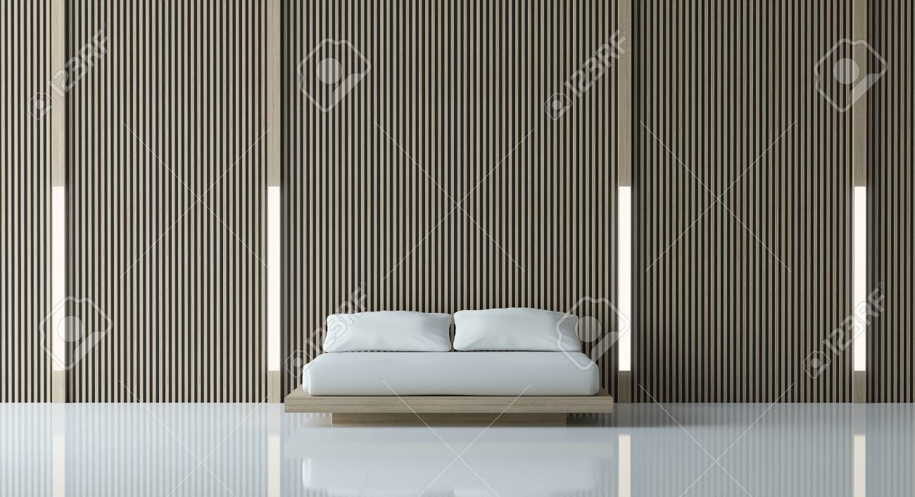 Modern Peaceful Bedroom/Modern Bedroom Minimalist Style White ...