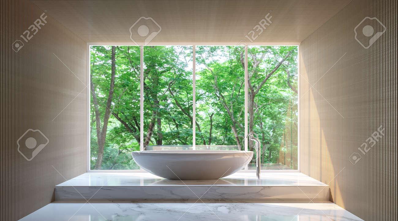 3d Fußboden Wald ~ Moderne badezimmer im wald badezimmer aus marmor weißen boden