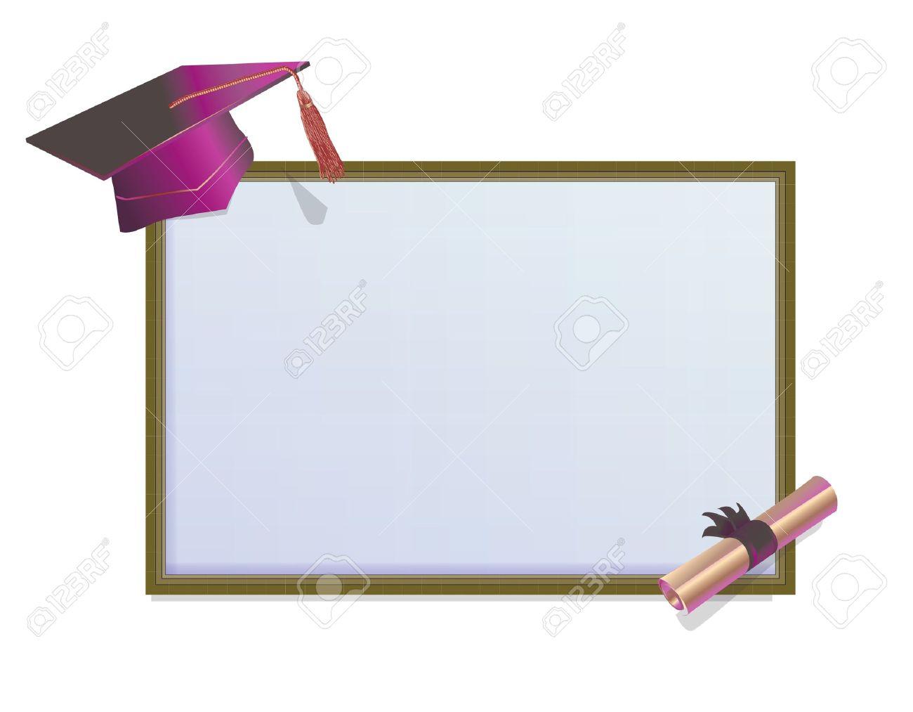 Graduation invitation card with mortars royalty free cliparts graduation invitation card with mortars stock vector 18711096 stopboris Gallery
