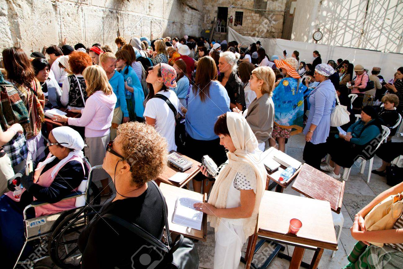 JERUSALEM - NOVEMBER 8: People pray at the Western Wall on Nov. 8, 2010 in Jerusalem, Israel. Stock Photo - 8321786