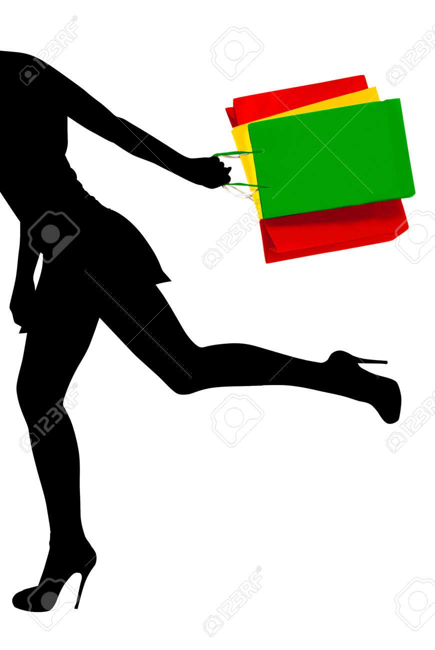 Running girl Stock Photo - 3375884