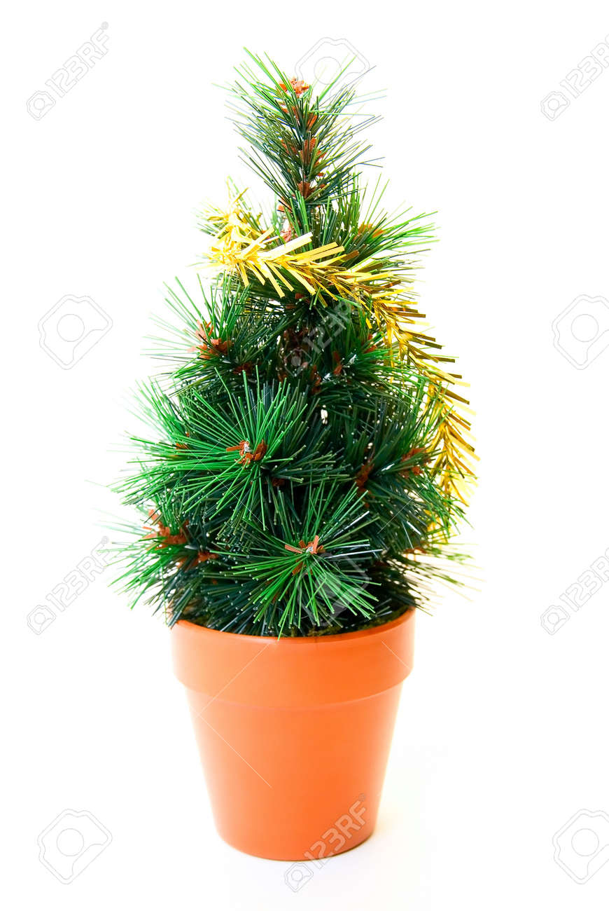 christmas tree toy isolated on white background Stock Photo - 4030567