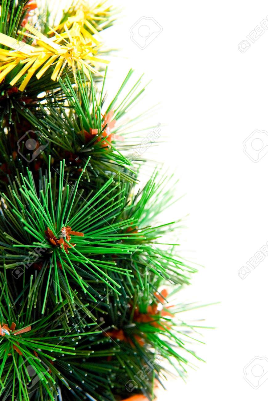 christmas tree toy isolated on white background. Close up Stock Photo - 4030564