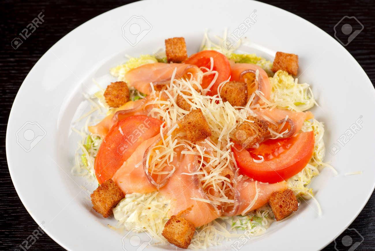 Salat chinakohl tomaten