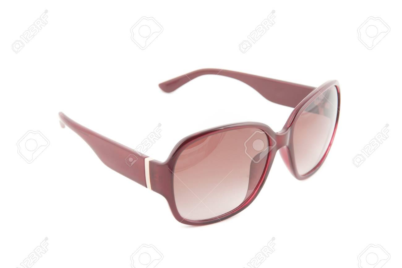 aec575c0eba377 Moderne Sonnenbrille Auf Weißem Hintergrund Lizenzfreie Fotos