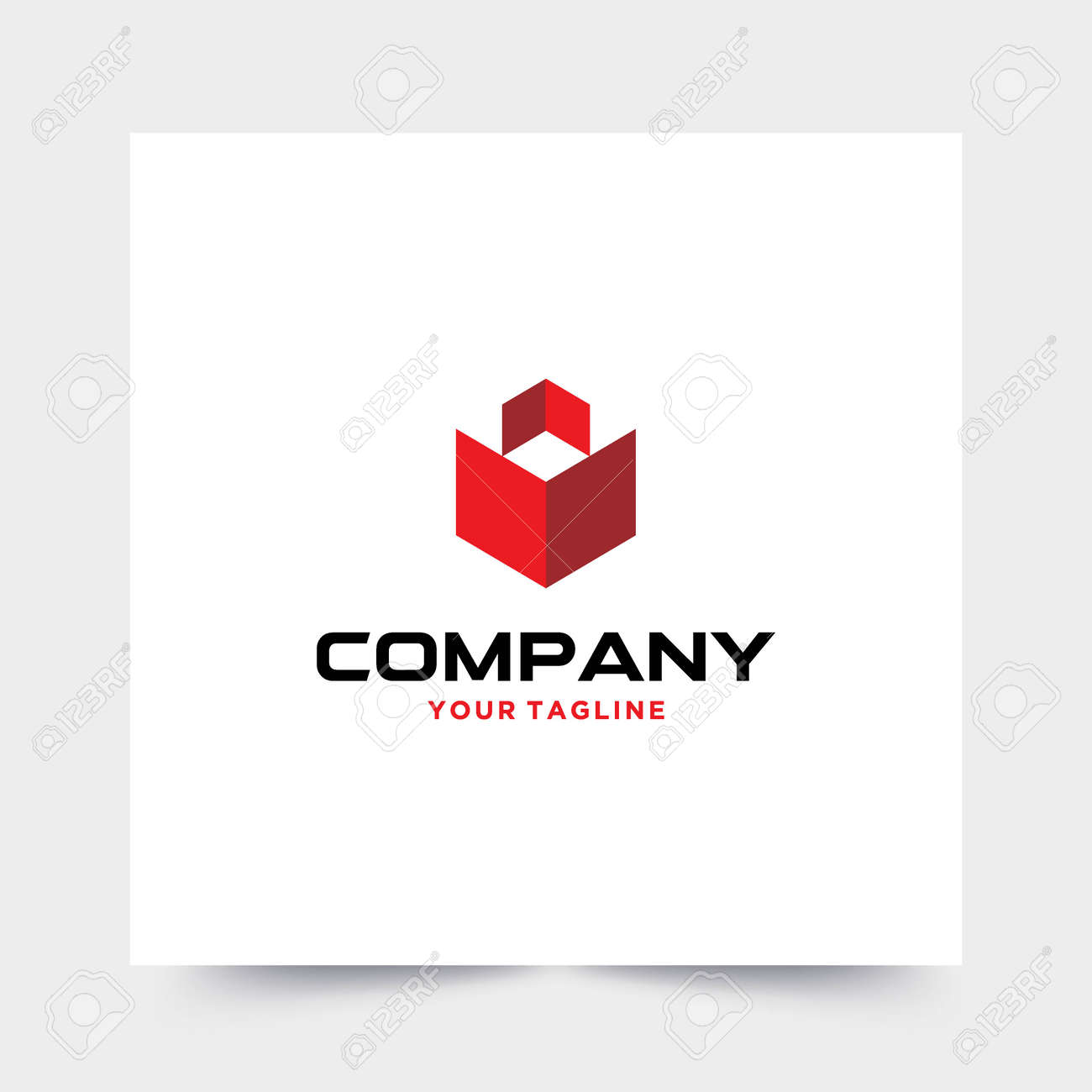 Modern and strong logo for construction companies - 156112201