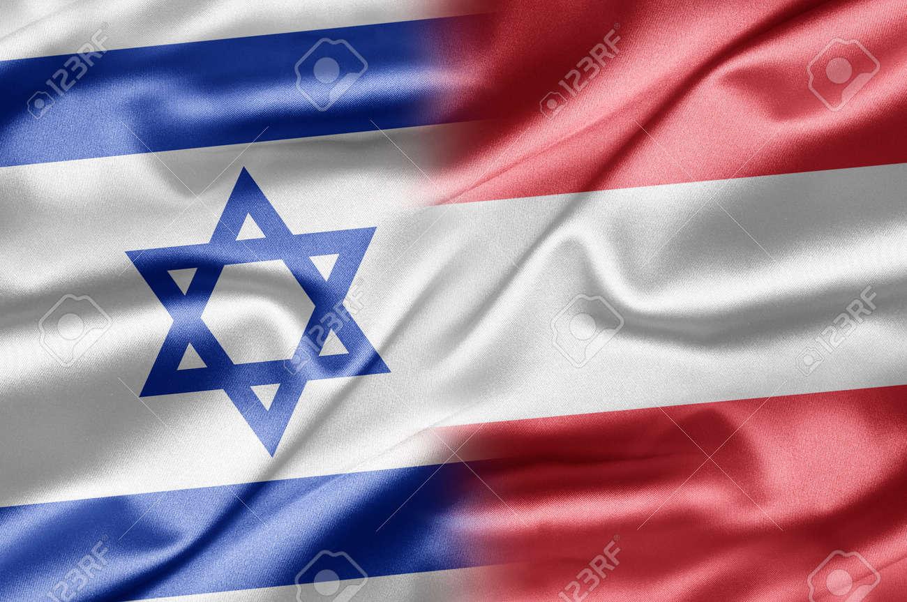 Israel and Austria Stock Photo - 14487033
