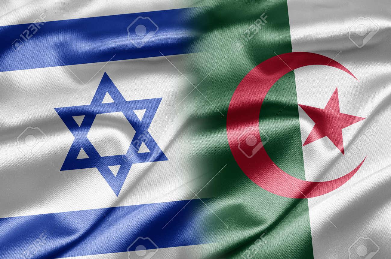 Israel and Algeria Stock Photo - 14487041