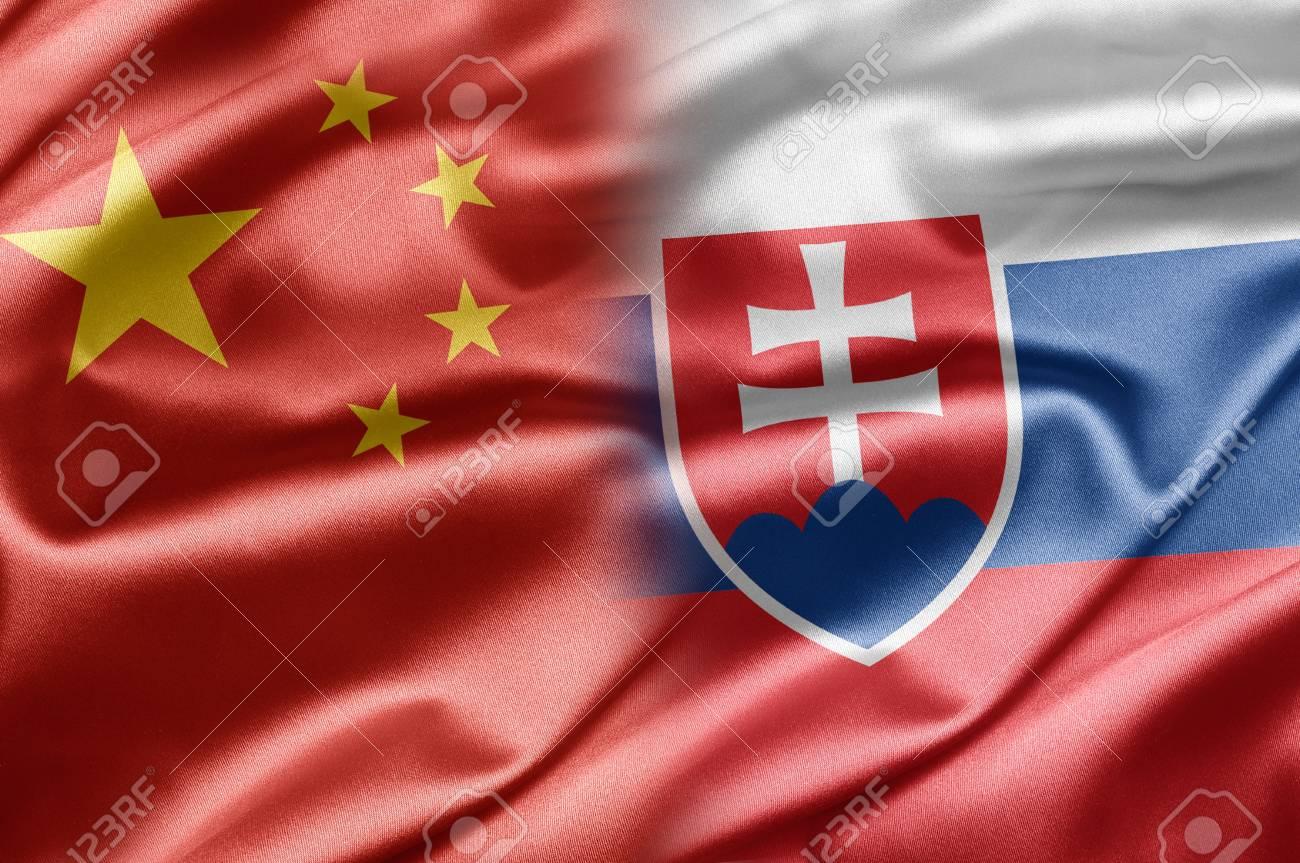 China and Slovakia Stock Photo - 14567895