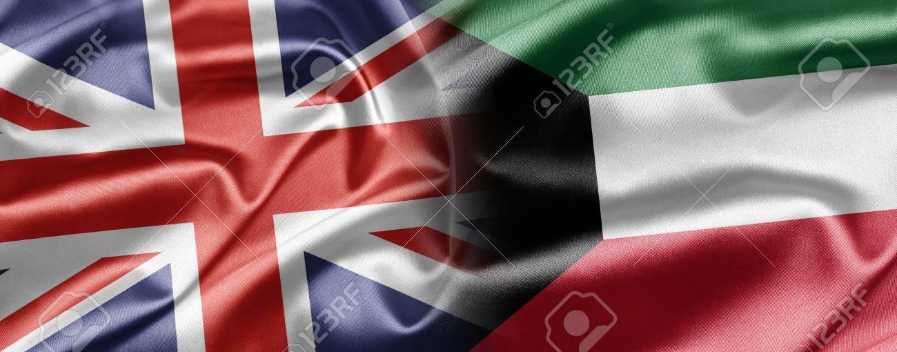 UK and Kuwait Stock Photo - 15202795