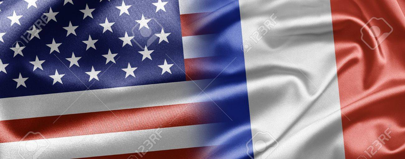 USA and France Stock Photo - 15104871
