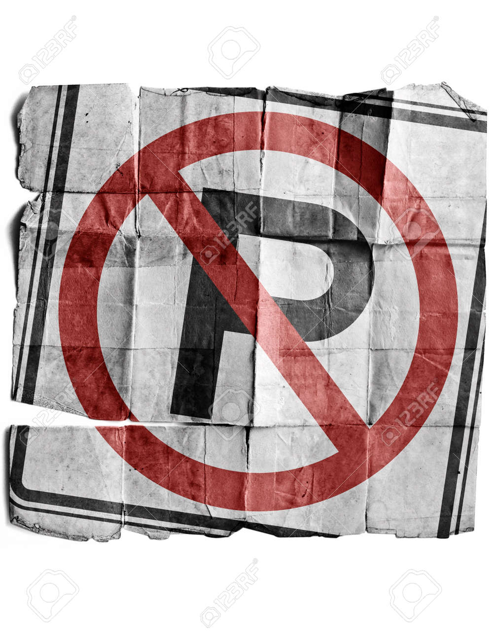 No parking sign Stock Photo - 17463256