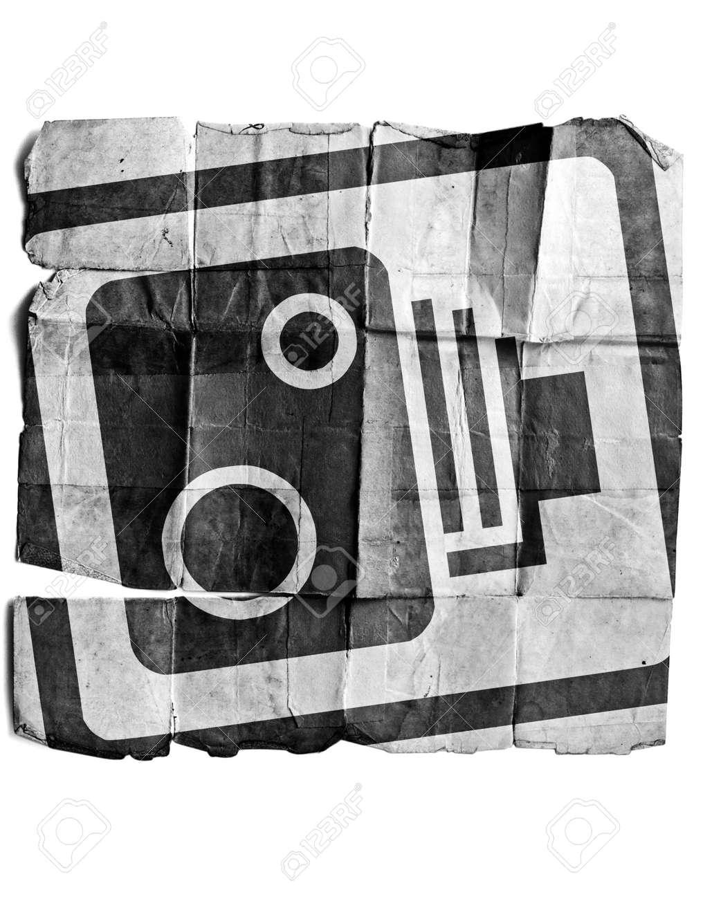 Speed camera sign Stock Photo - 17463202