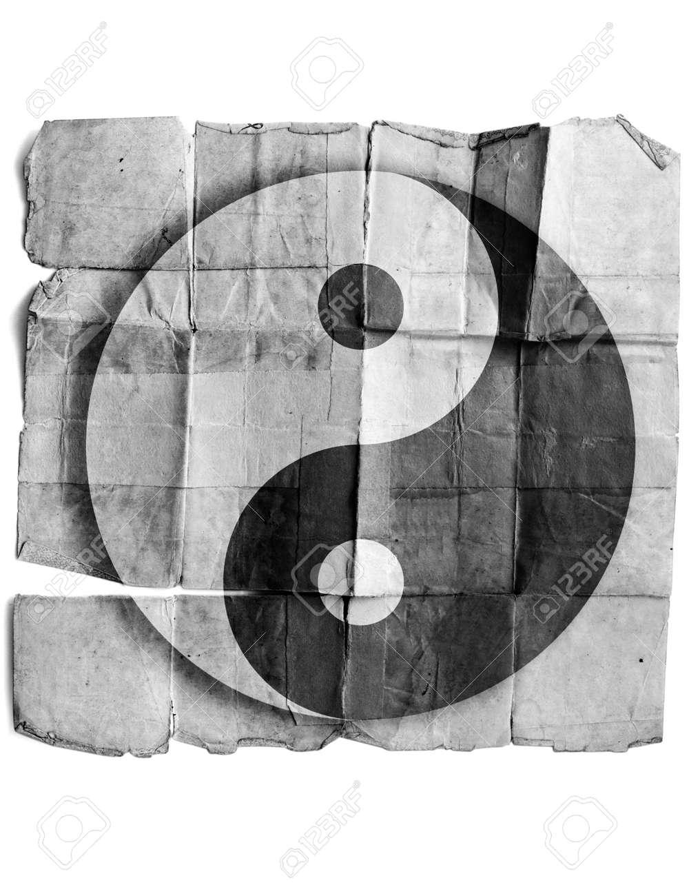 Ying yang symbol Stock Photo - 17463127