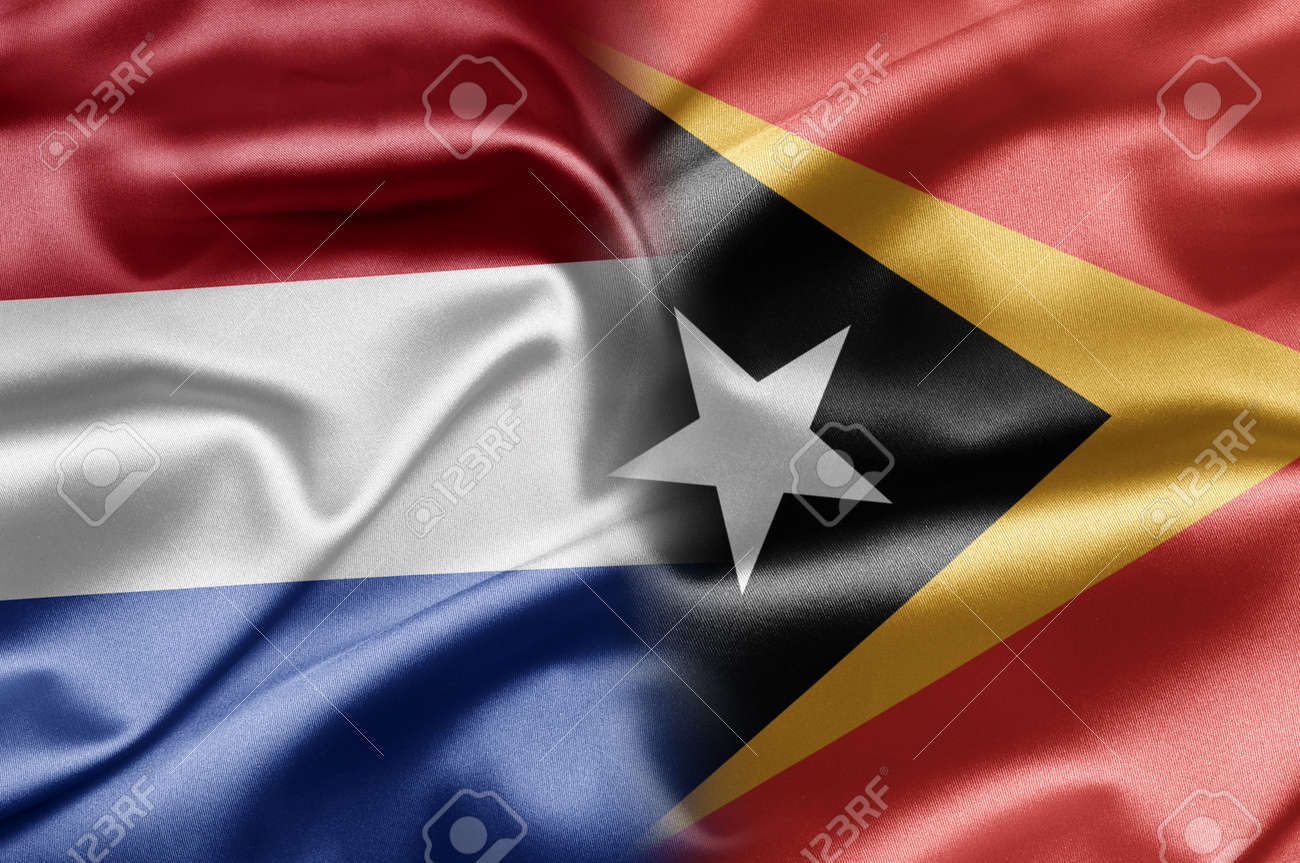 Netherlands and East Timor Stock Photo - 17705490