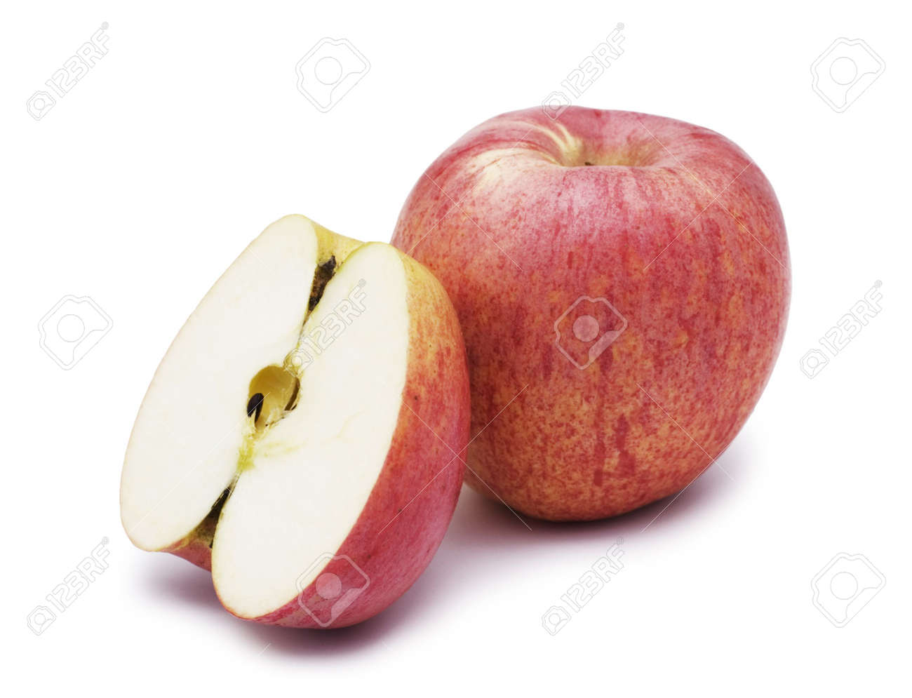 apple isolated over white background Stock Photo - 2538630