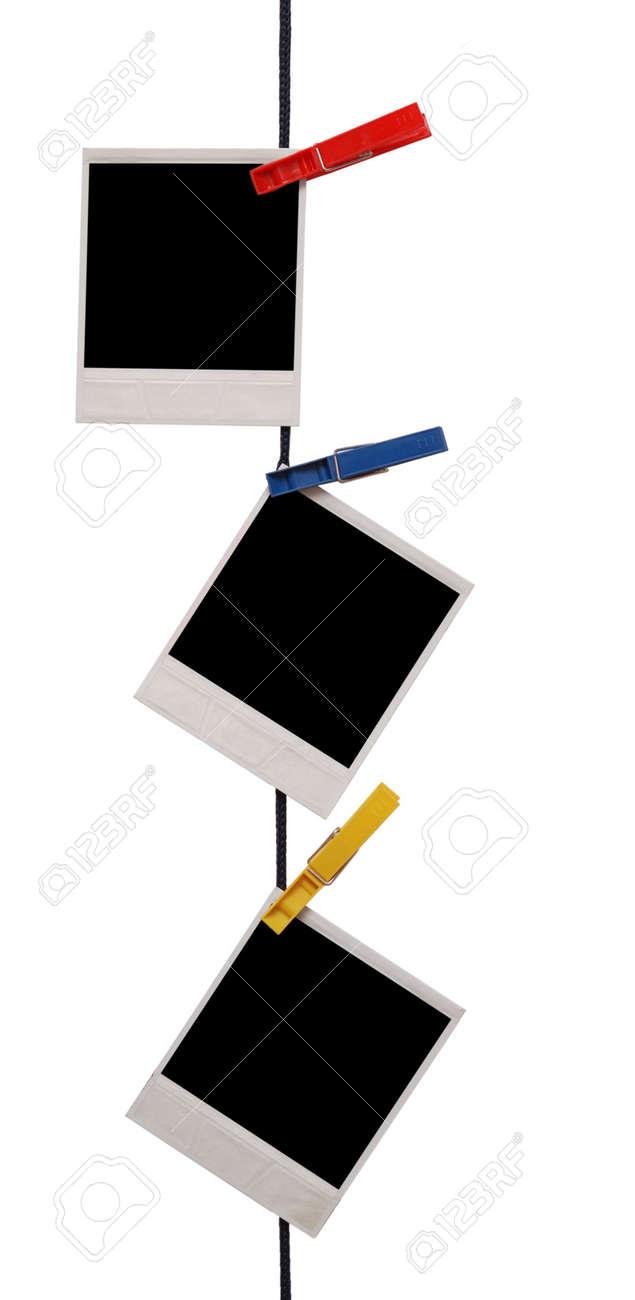 photo frames isolated on white Stock Photo - 4894800