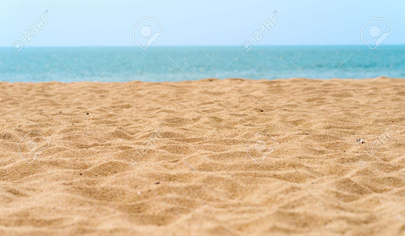 beautiful sand beach Standard-Bild - 37600754
