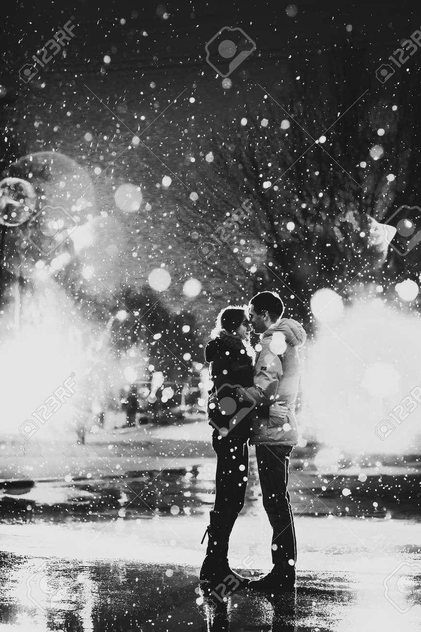 Küssen im regen