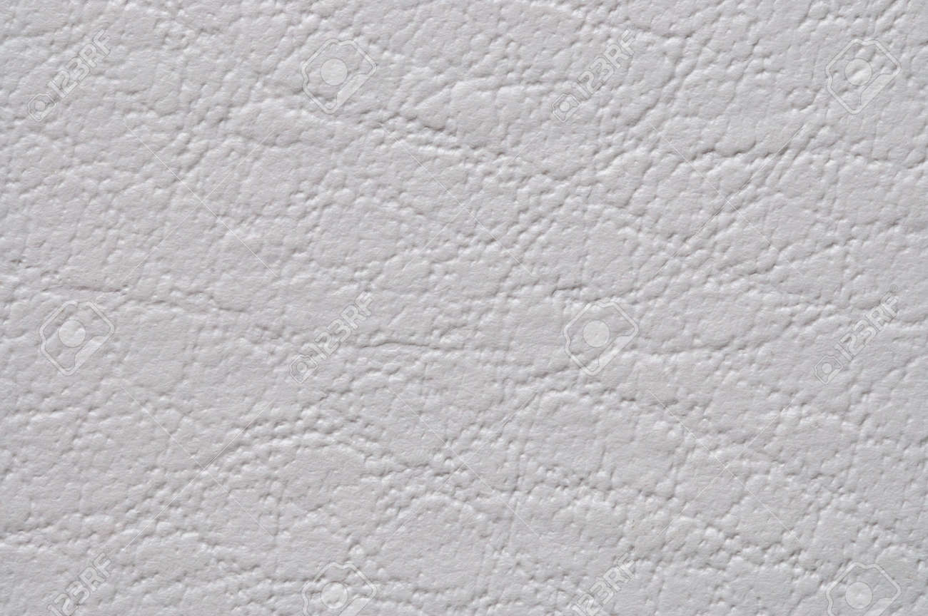 Captivating White Leather Texture. Synthetic Material. Stock Photo   3053502