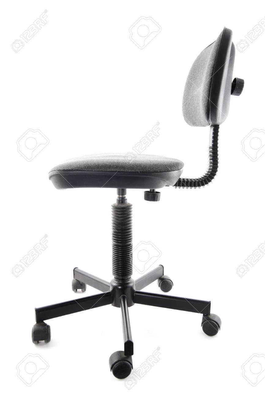 Antiguos y usados de oficina silla. Polvoriento y sucio.