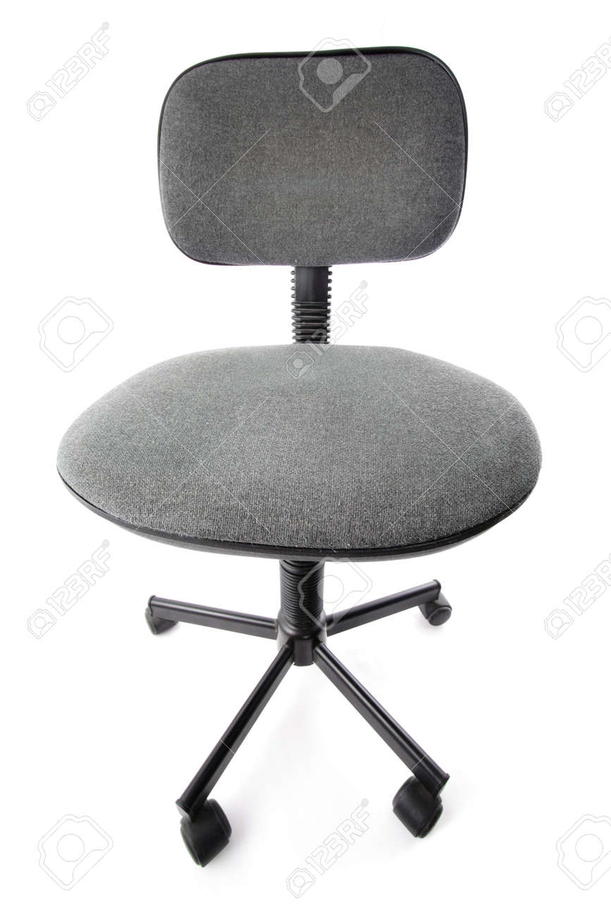 Old And Used Office Chair Dusty Dirty Stock Photo  4300508  R