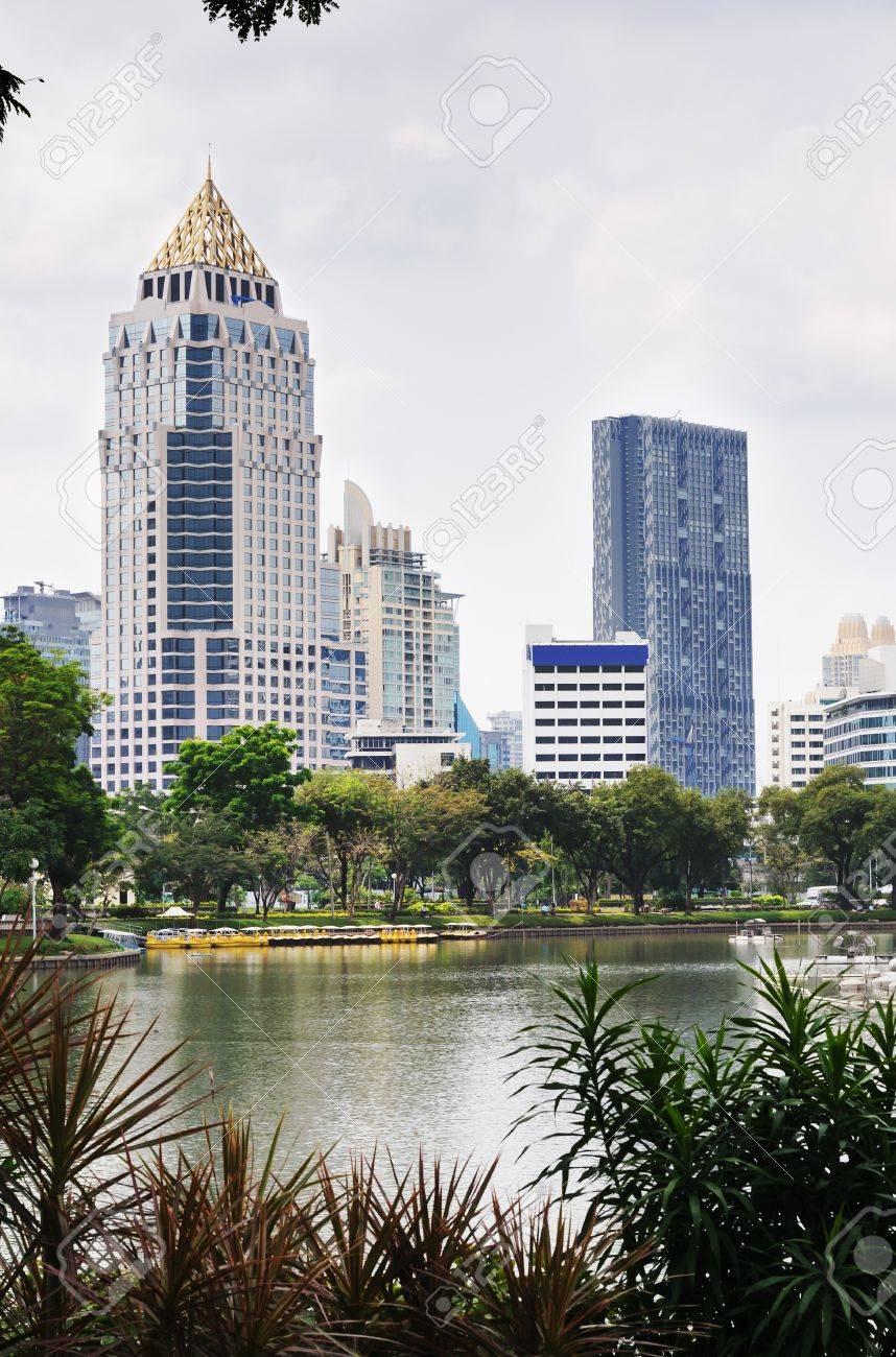 Beautiful view of Bangkok city centre. Thailand. Stock Photo - 9166833