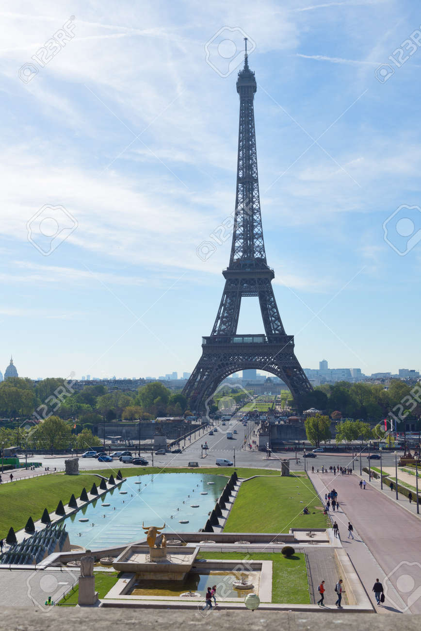 paris france may 6 2016 the main tourist attraction of paris
