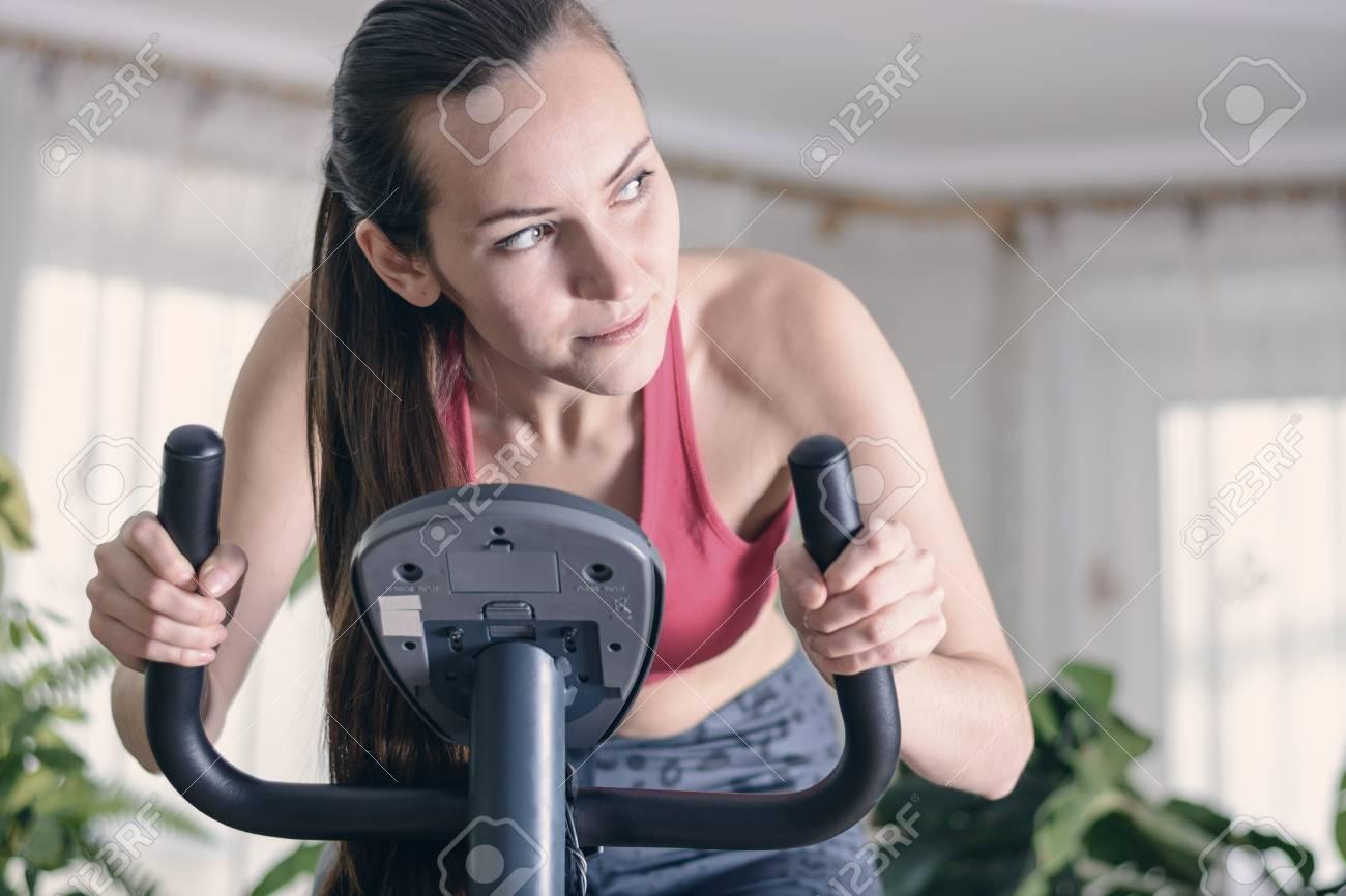 Bicicleta estatica perdida de peso