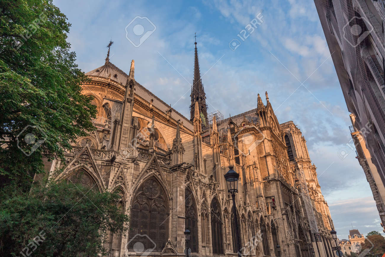 Notre Dame De Paris Cathedral Before Fire Most Beautiful
