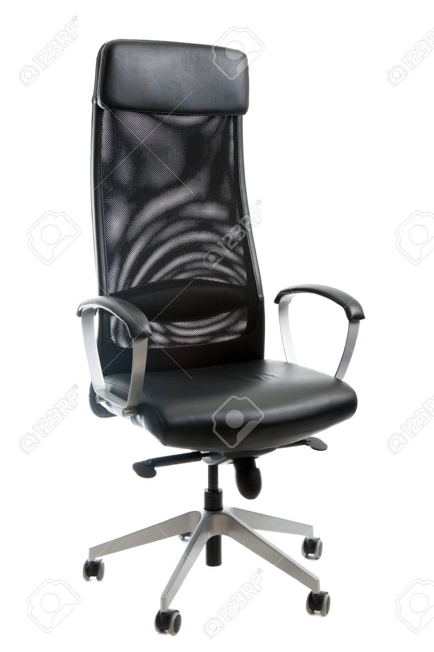 Peachy Black Leather Easy Chair On White Background Inzonedesignstudio Interior Chair Design Inzonedesignstudiocom