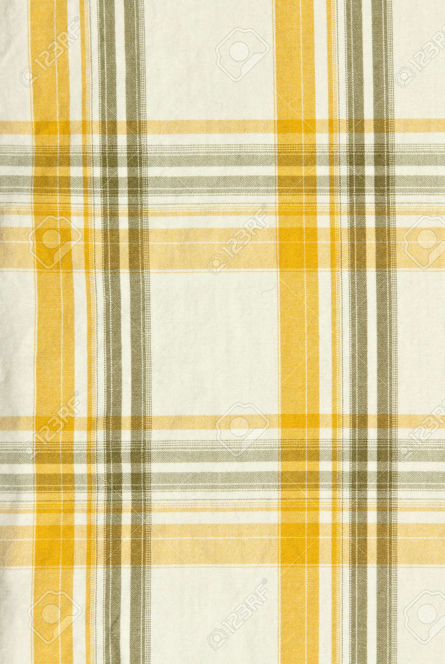 9e0782b84dcfd background of yellow and white plaid fabric