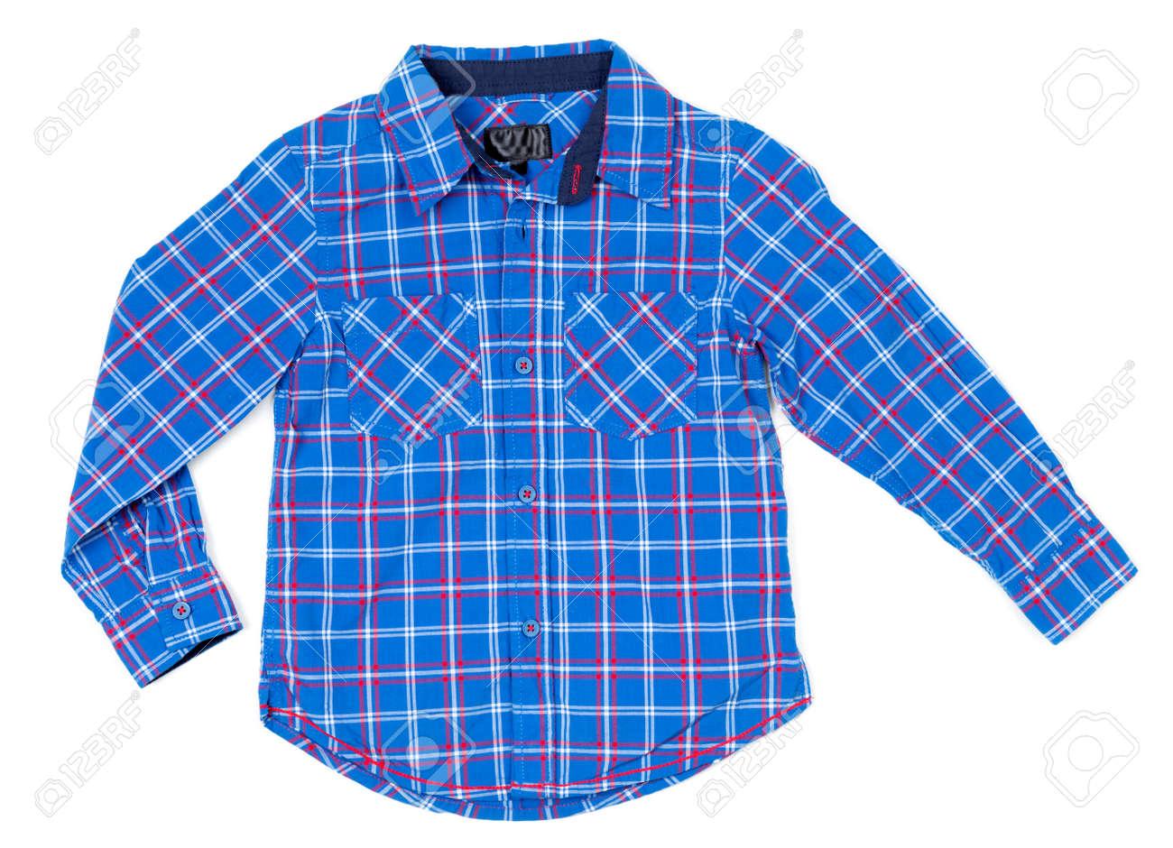 Kariertes Hemd für Kinder