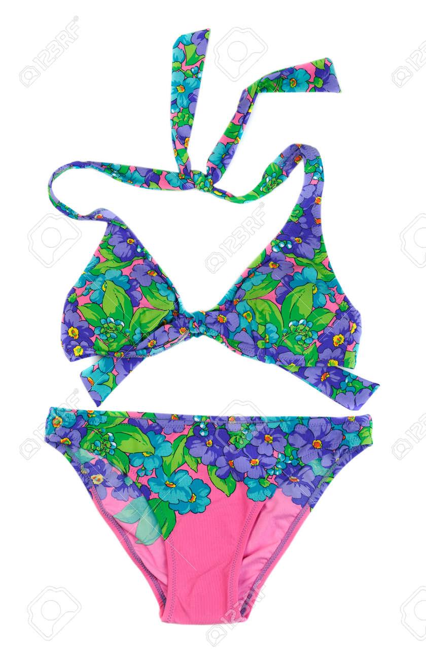 23d7c3f2a Blue With Pink Bikini Set