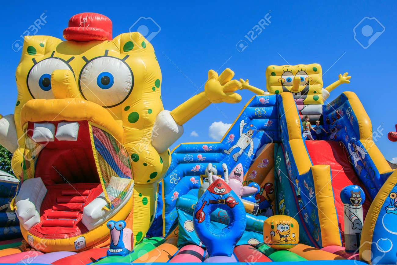 inflatable attraction of young children bulgaria varna 16.05.2018 - 133910463