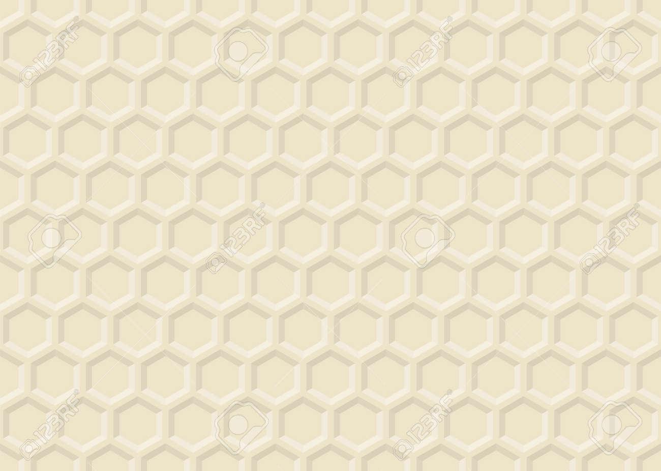 Beehive ornament - Ornament Honey Vector Decorative Pattern Honeycomb Propolis Background Beehive Texture Honeyed Hexagon Stock Vector 52854465