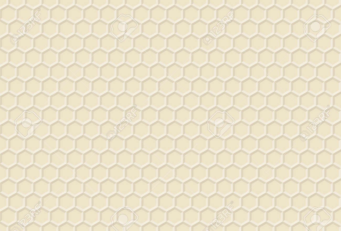 Beehive ornament - Ornament Honey Vector Decorative Pattern Honeycomb Propolis Background Beehive Texture Honeyed Hexagon Stock Vector 52865621