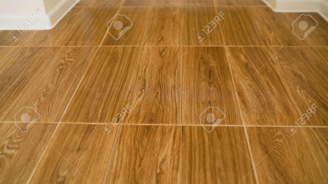 Tile in wood color. wood floor texture. - 150811660