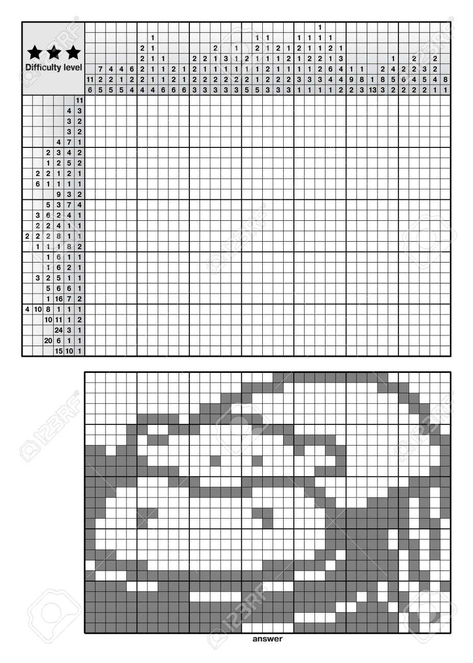 Picture logic puzzles