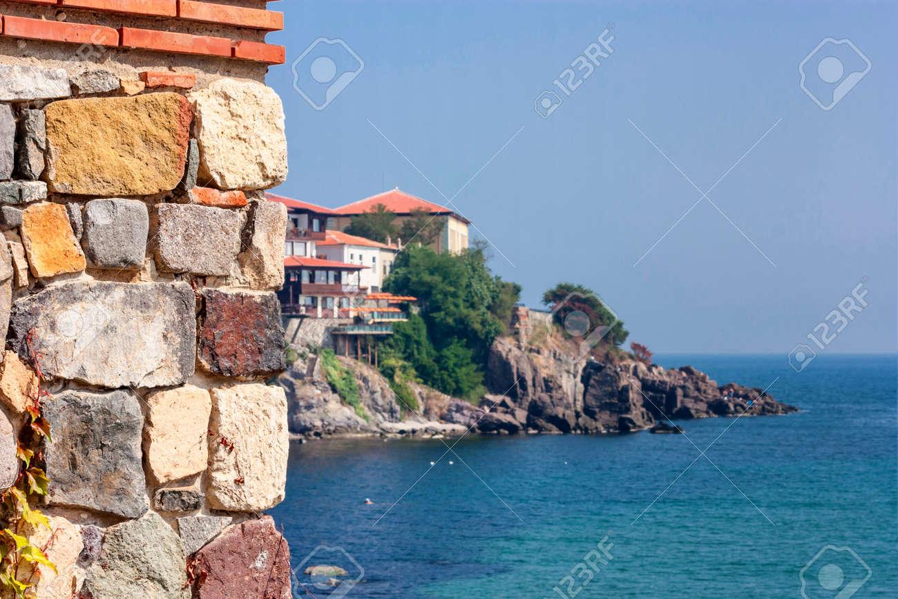 海辺の風景 - ブルガリアの黒海...