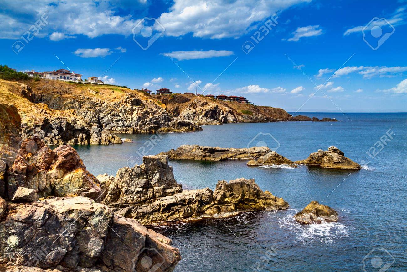 沿岸の風景 - ブルガリアのソゾ...