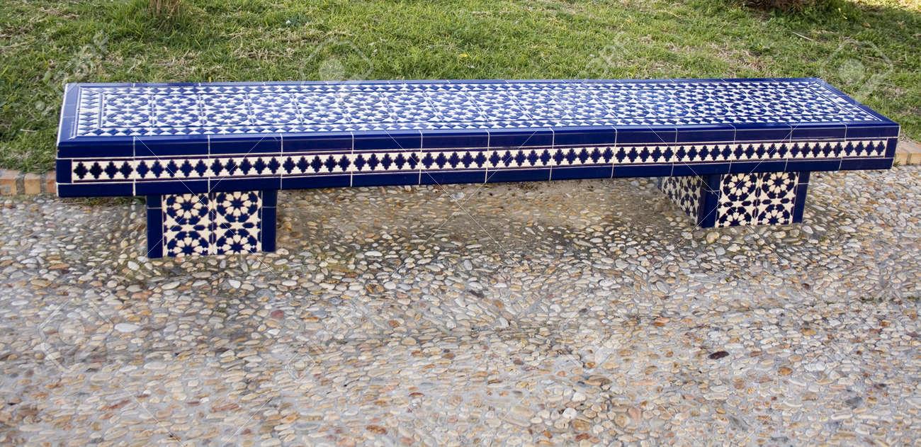 Magnificent Ceramic Bench Spiritservingveterans Wood Chair Design Ideas Spiritservingveteransorg
