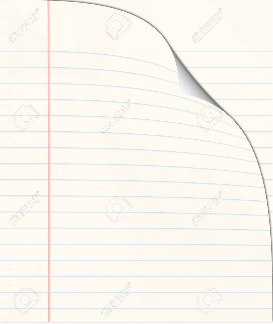 turn over a new leaf -ruled book with page turning Stock Photo - 1471218
