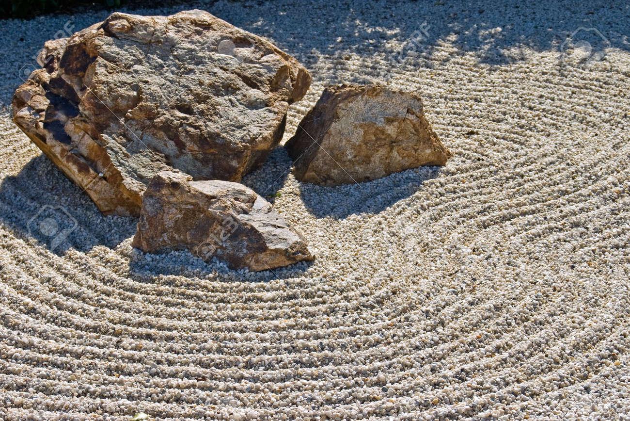 Garden Gravel Stones Excellent A Zen Rock Garden In Ryoanji