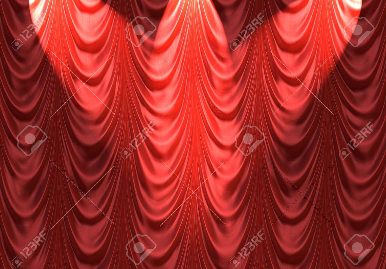 photo gold curtain depositphotos icetray curtains red columns velvet stock