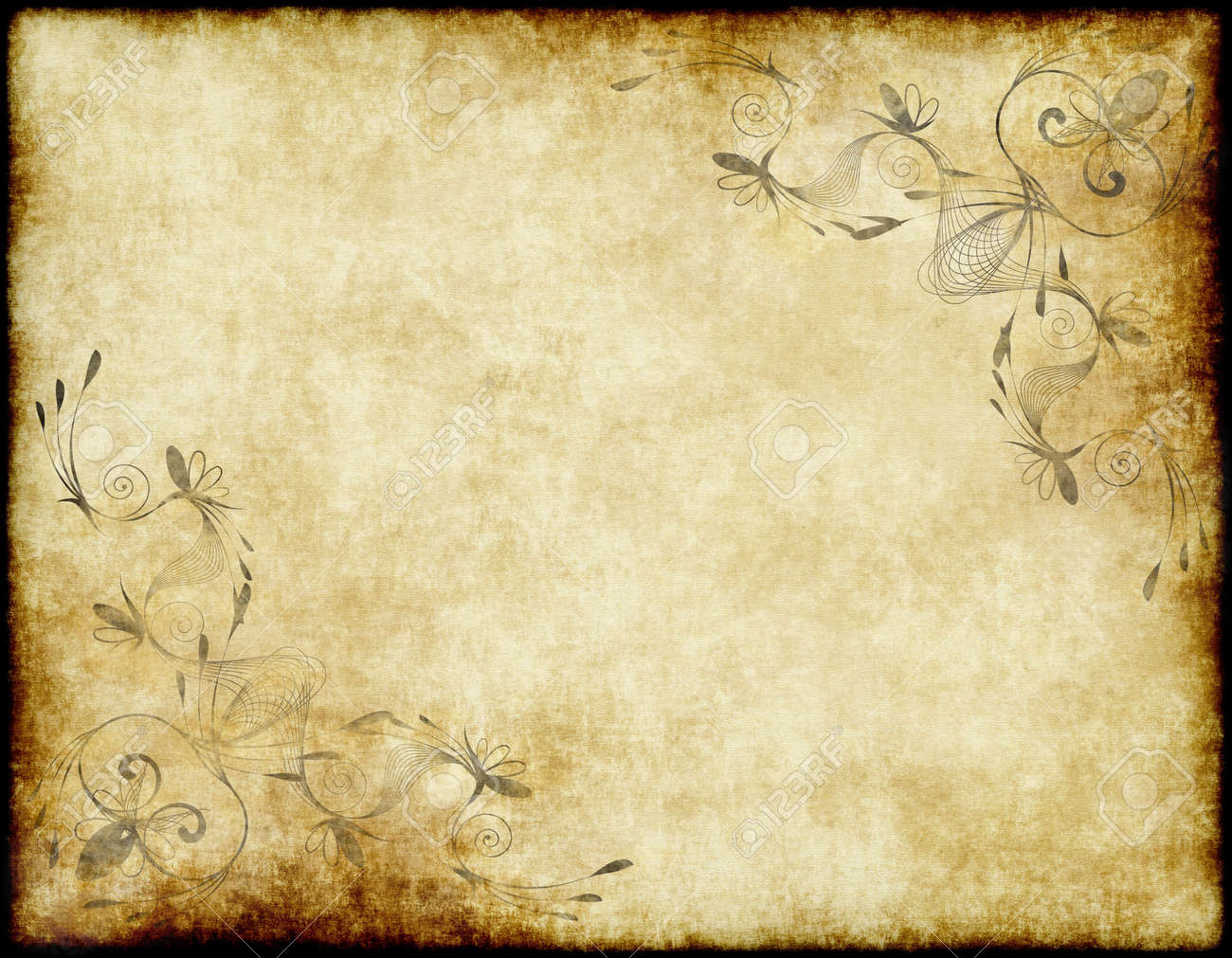Famous Large Old Paper Or Parchment Background Texture Stock Photo  HZ34